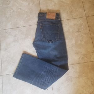 Levi's 527 straight leg jeans